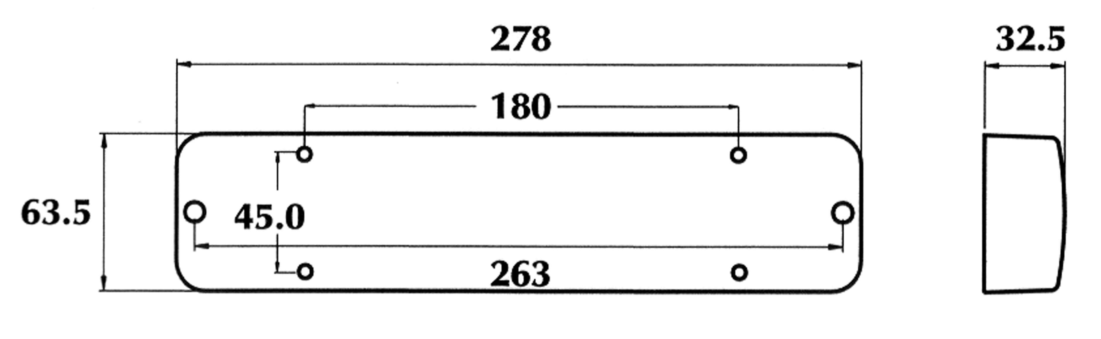 Dasteri - INNENRAUM LEUCHTE 12V ODER 24V