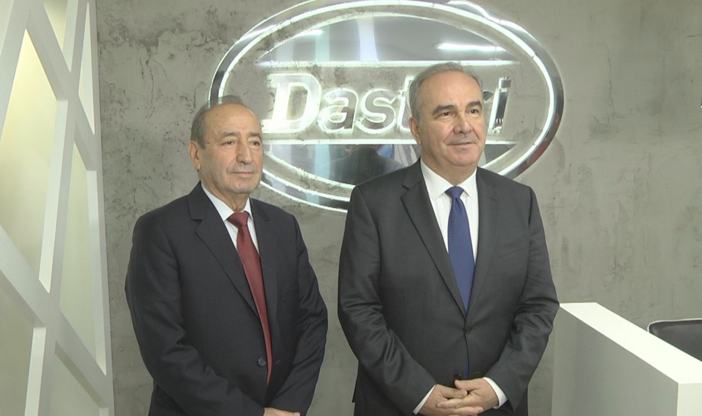 Visit of Deputy Minister of Industry and Trade to DASTERI