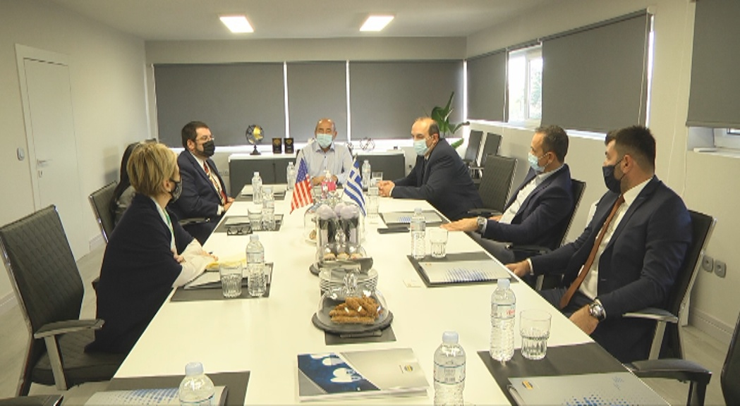 Visit of the Deputy Chief of Mission of the USA Embassy and Consul General in DASTERI facilities
