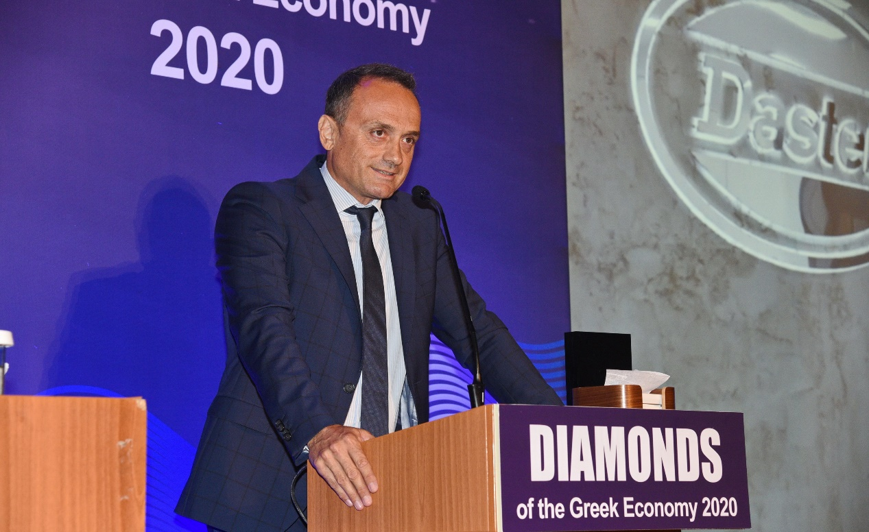 """DASTERI is awarded a """"Diamond of the Greek Economy"""" award for the second year in a row"""