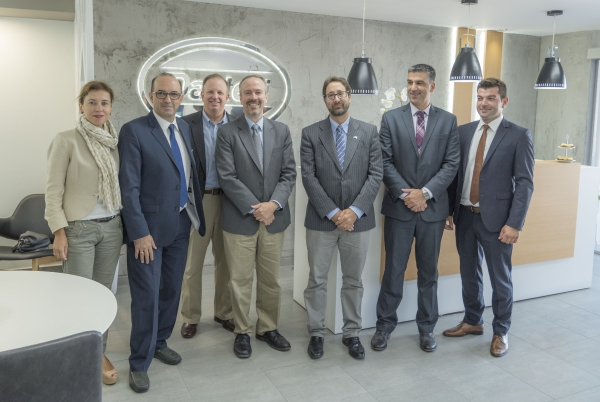 Counselor for Economic Affairs and Commercial Counselor of USA visit Dasteri