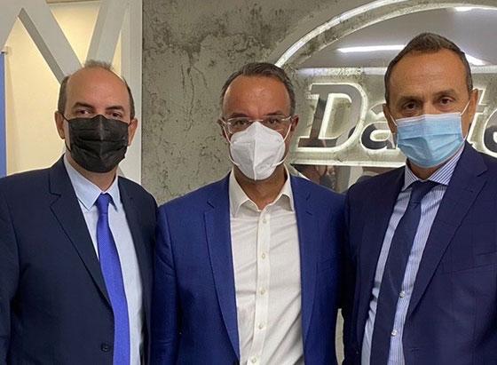 Visit of Greek Minister of Finance Mr. Staikouras DASTERI facilities