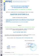 14001 certificate