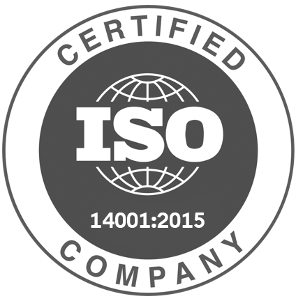 14001 certificate badge
