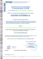 9001-2015 certificate