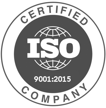 9001 certificate badge